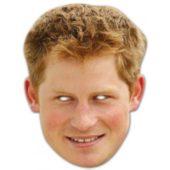 Prince Harry Cardboard Face Mask