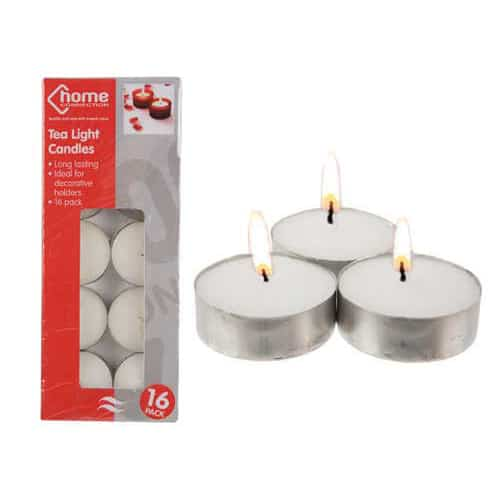 REAL-Tea-Light-Candles-Pack-of-16-image