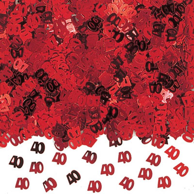 Red 40 Table Confetti - 14 Grams Product Image