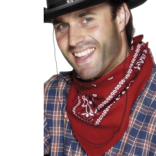 Red Western Neckerchief Product Image