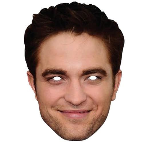 Robert Pattinson Cardboard Face Mask Product Image