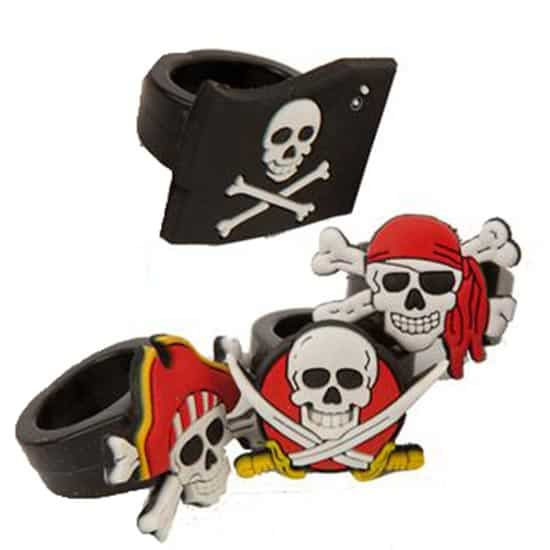 Assorted Rubber Pirate Ring