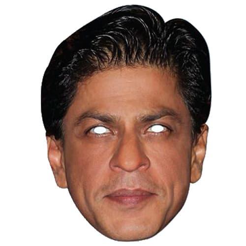Shah Rukh Khan Cardboard Face Mask Single Partyrama Co Uk