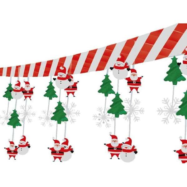 Snowman-and-Santa-Ceiling-Decoration-image