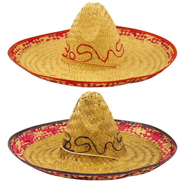 Mexican Style Sombrero Fancy Dress Hat