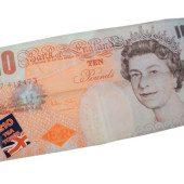 Tea Towel 10 GBP Note Design – Single