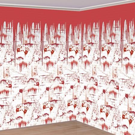 The Chop Shop Bloody Wall Backdrop Scene Setter Room Roll