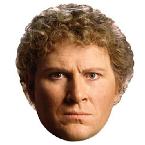 Dr Who The 6th Doctor Cardboard Face Mask Product Image