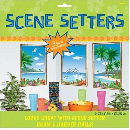 Tropical Sea View Scene Setter Add-On