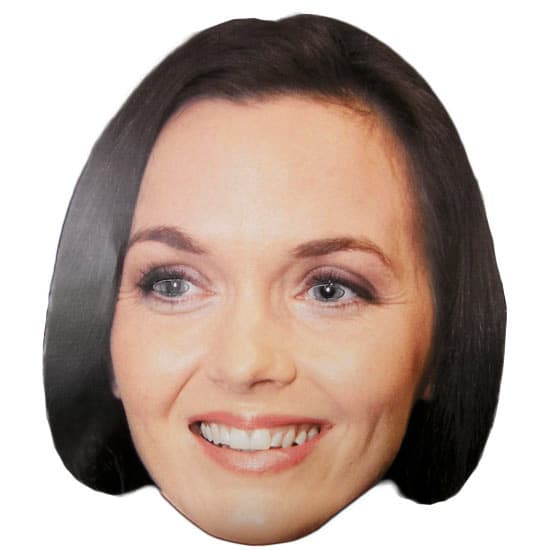 Victoria Pendleton Cardboard Face Mask Product Image
