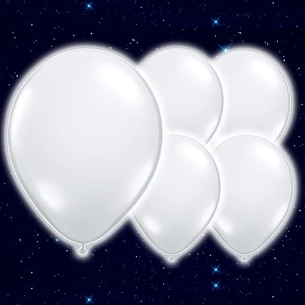 White-Colour-9-Inch-Illoom-Balloons-Pack-of-15-product-image