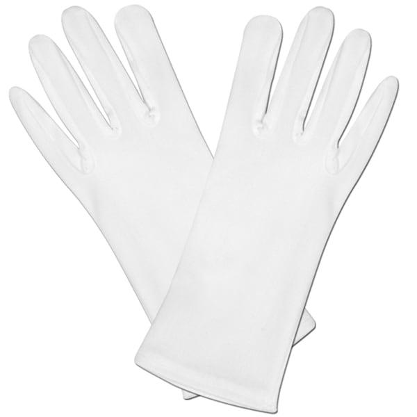 White Fancy Dress Gloves