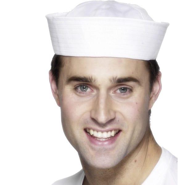 White US Sailor Hat