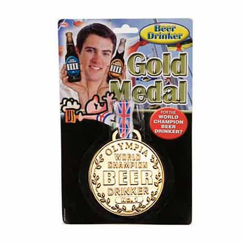 World Champion No.1 Beer Drinker Gold Medal
