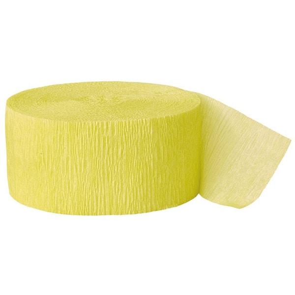 Yellow-Crepe-Streamer-81-Foot-Length-image