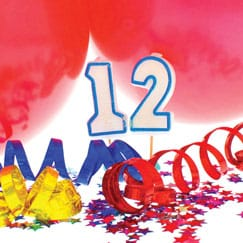 12th Birthday Party Supplies Category Image