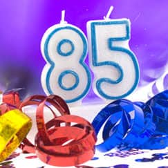 85th Birthday Party Supplies Category Image