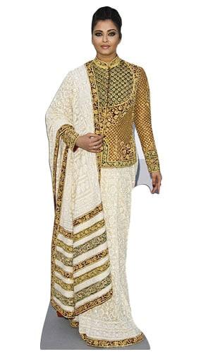 Aishwarya Rai Bachchan Lifesize Cardboard Cutout - 167cm