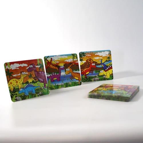 Assorted Dinosaur Jigsaw Puzzle Bundle Product Image