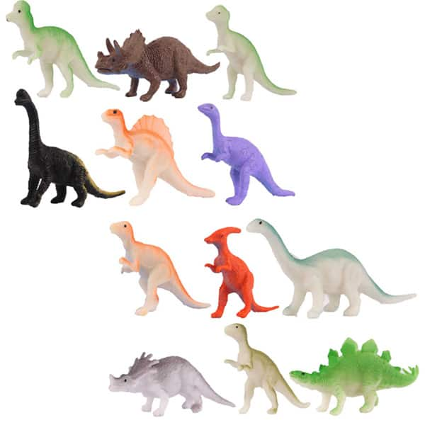 Small Plastic Dinosaur Figurine - Single Product Image