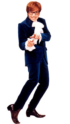 Austin Powers Lifesize Cardboard Cutout - 183cm Product Gallery Image
