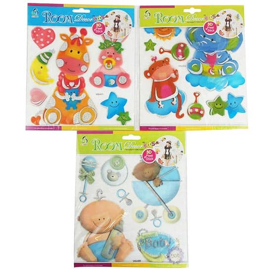 Babies Room Decor 3D Multilayer Stickers