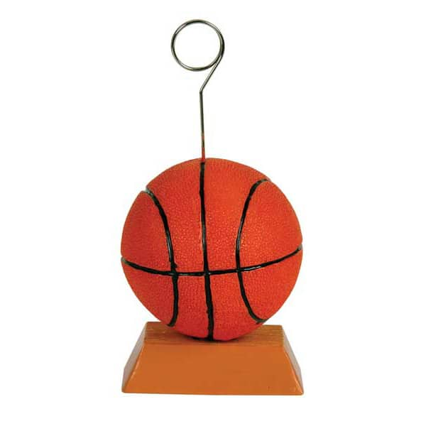 Basketball Balloons/Photo Holder - 5 Inches / 13cm