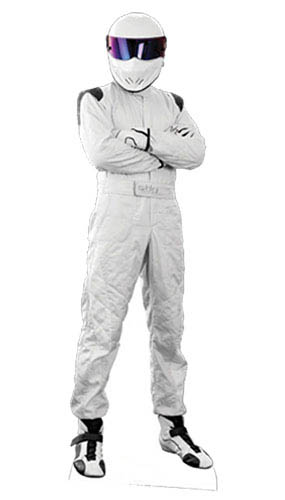 BBC Top Gear The Stig Lifesize Cardboard Cutout - 183cm Product Gallery Image