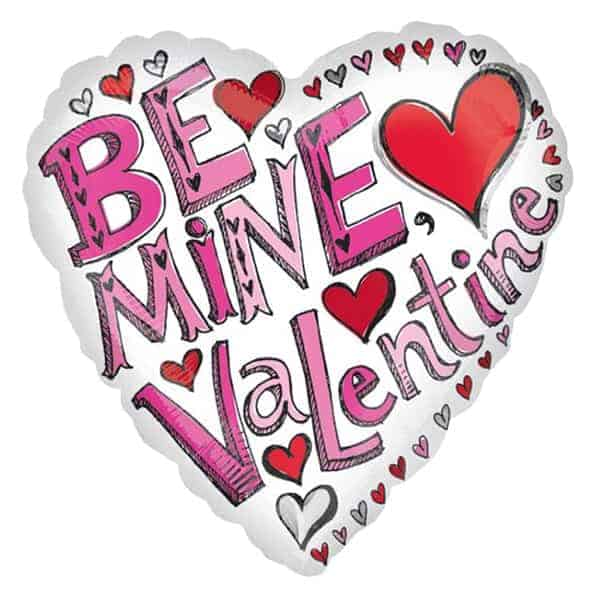 be-mine-valentine-heart-foil-balloon-product-image