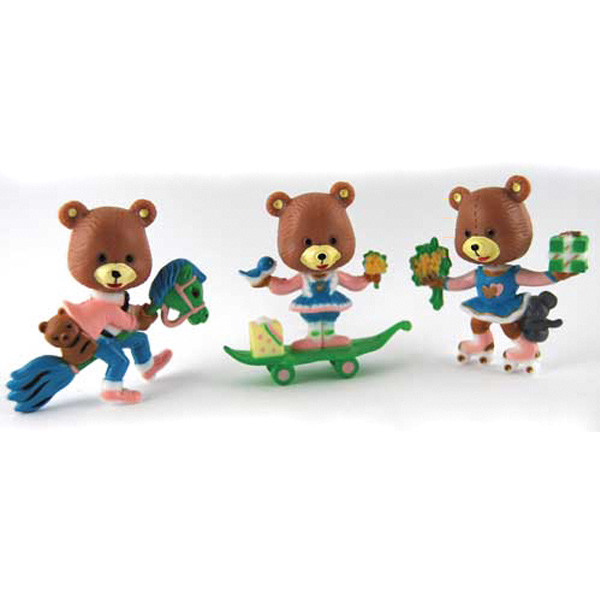 Assorted Bear Family Cake Topper Cake Topper