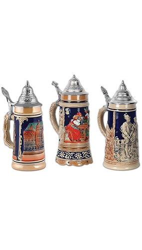 Beer Stein Decorative Cutouts - 18 Inches / 46cm - Pack of 3