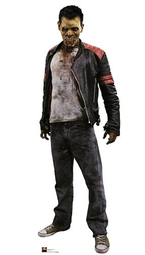Biter Zombie Lifesize Cardboard Cutout - 186cm Product Gallery Image