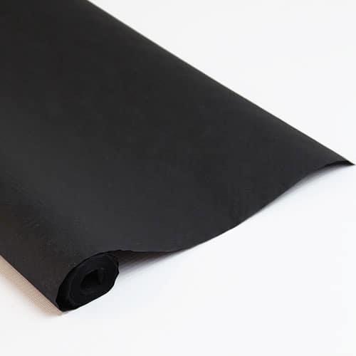 Black Paper Banquet Roll - 8m x 1.2m