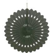 Black Hanging Decorative Honeycomb Fan