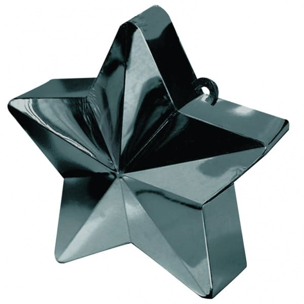 Black Star Balloon Weight Product Image