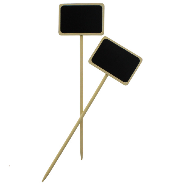 Blackboard Rectangular Ivory Picks – Pack of 2