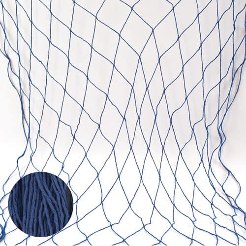 Blue Fish Netting - 4 x 12 Ft / 122 x 366cm