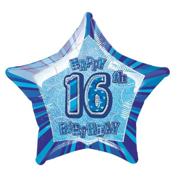 blue-glitz-age-16-happy-birthday-20-inch-prismatic-foil-balloon-product-image