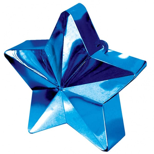 Blue Star Balloon Weight Product Image