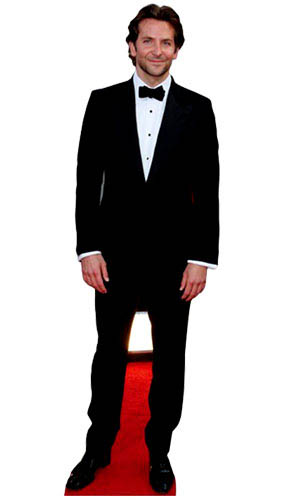 Bradley Cooper Lifesize Cardboard Cutout 189cm - PRE-ORDER Product Gallery Image
