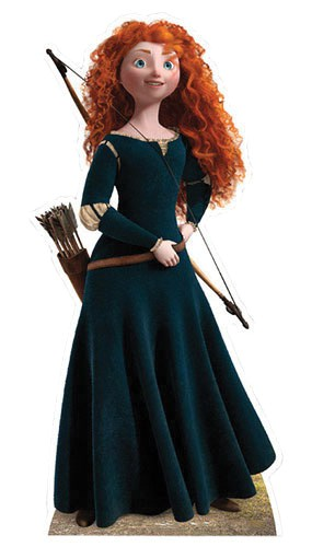 Brave Merida Brave Lifesize Cardboard Cutout - 150cm Product Gallery Image