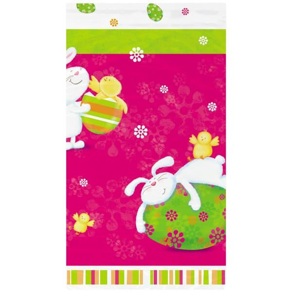 Bunny Pals Plastic Tablecover 213cm x 137cm