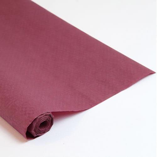 Burgundy Paper Banquet Roll - 8m x 1.2m