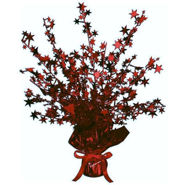 burgundy-foil-star-balloon-weight-centerpiece-single-product-image