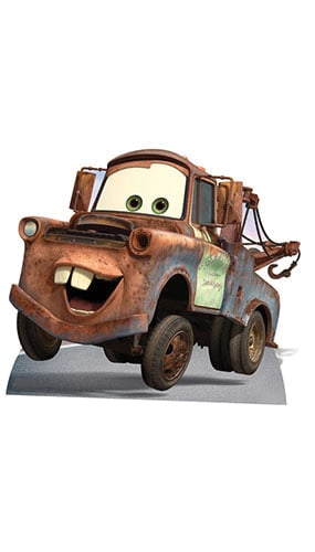 Cars Mater Lifesize Cardboard Cutout - 112cm Product Gallery Image