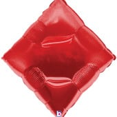 Casino Diamond Supershape Foil Helium Balloon 89cm / 35Inch