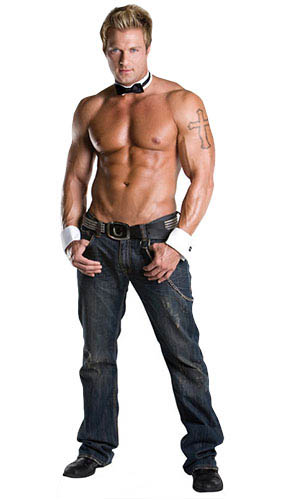 Chippendale Billy Jeffrey Lifesize Cardboard Cutout - 187cm Product Gallery Image