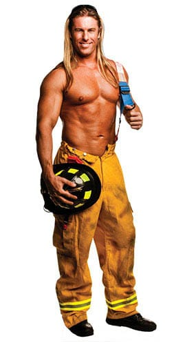 Chippendale Kevin Fireman Lifesize Cardboard Cutout - 189cm