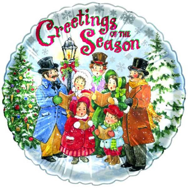 christmas-carolers-18-inch-foil-balloon-product-image
