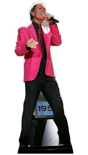 Cliff Richard 50th Anniversary Lifesize Cardboard Cutout - 178cm Product Gallery Image